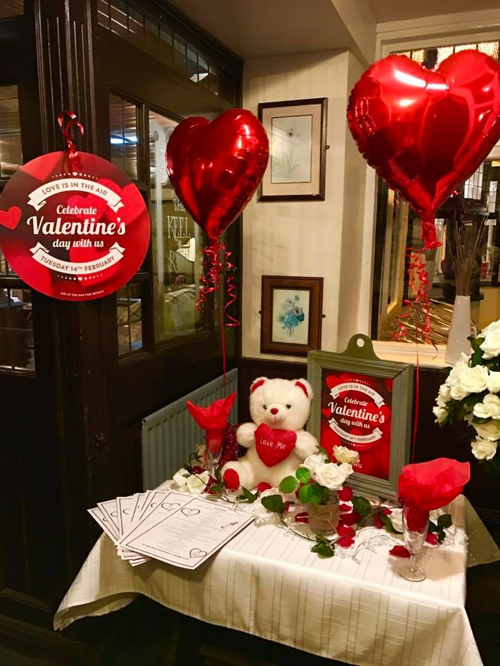 Book Now For Valentines 2018